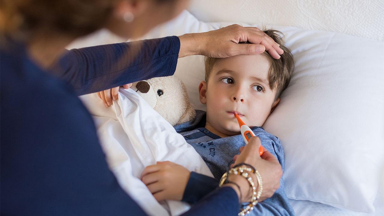 Febre em crianças: saiba como agir!