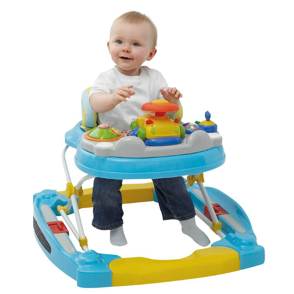 Andador infantil: crianças devem usá-lo?