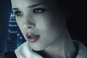 Mulher chorando: como lidar com o aborto espontâneo?