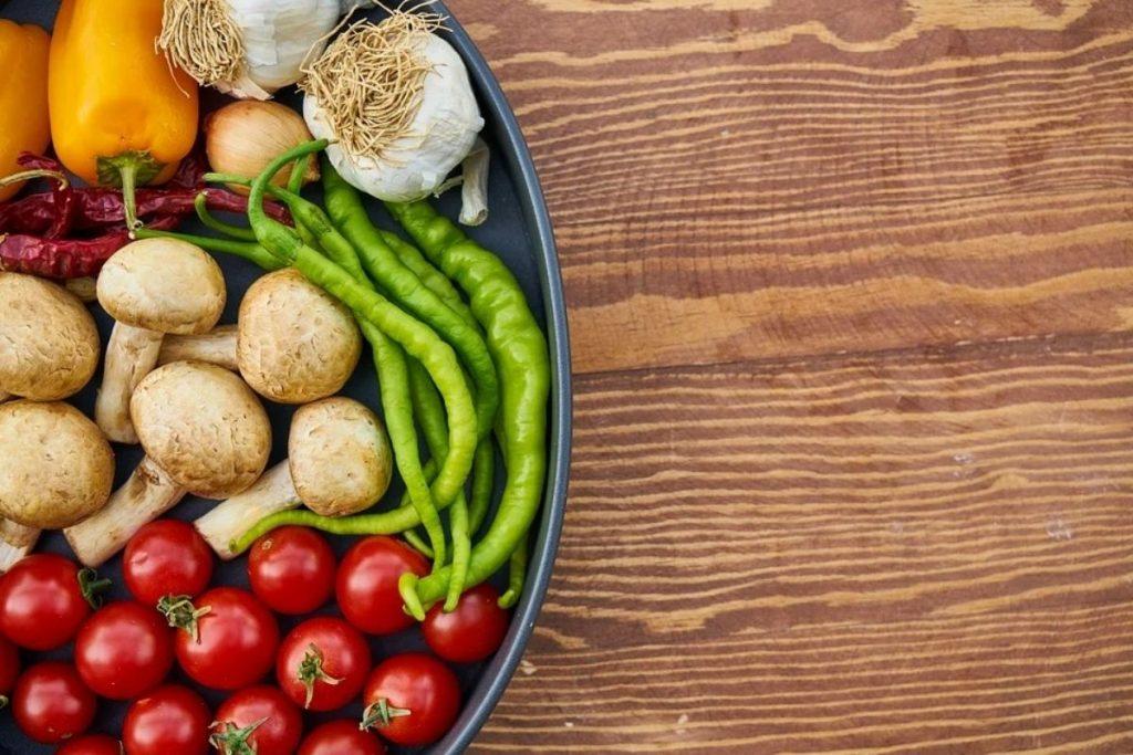 Prefira alimentos saudáveis