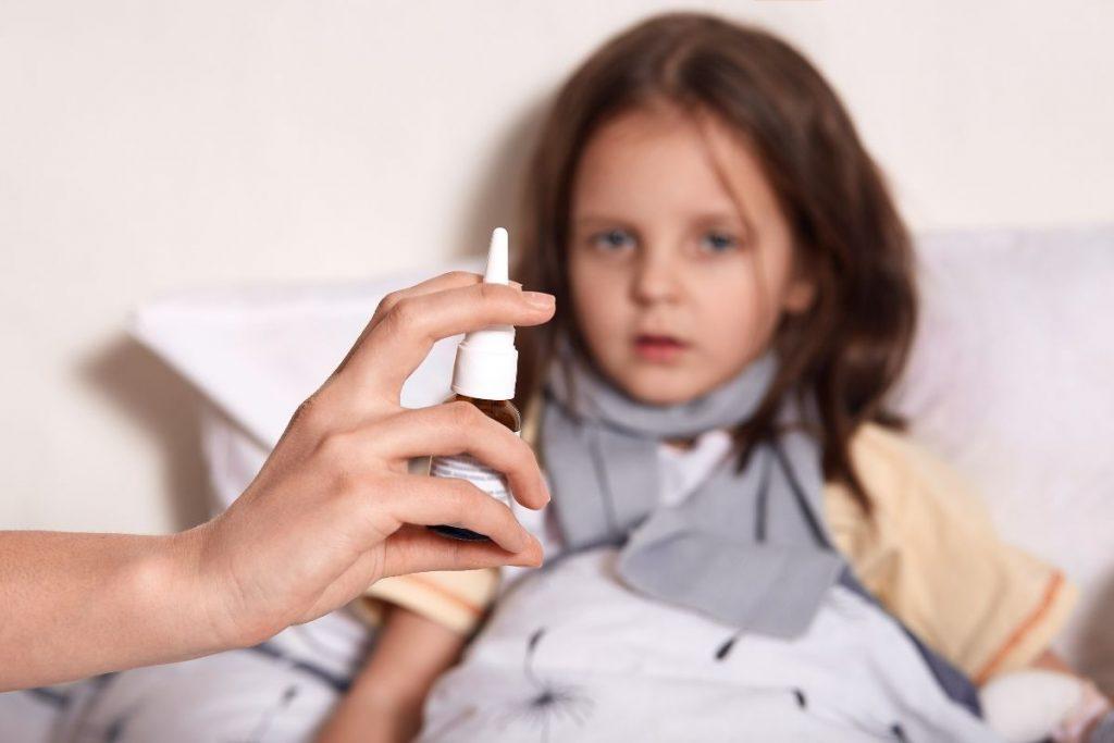 crianças têm mais alergia no inverno